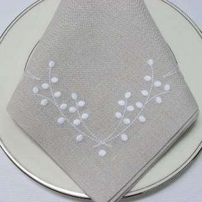 "Dinner Napkin, 22"" Plain Hem"
