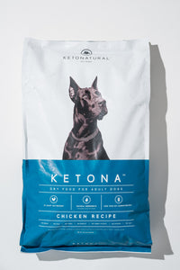 Ketona Dry Food For Adult Dogs Chicken Recipe -- 16.8 Pounds