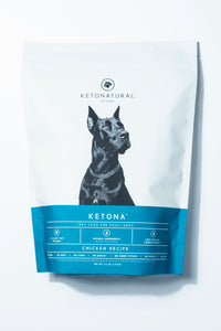 Ketona Dry Food For Adult Dogs Chicken Recipe -- 4.2 Pounds