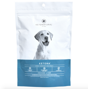Ketona Single Ingredient Dog Treats -- Chicken Liver Flavor