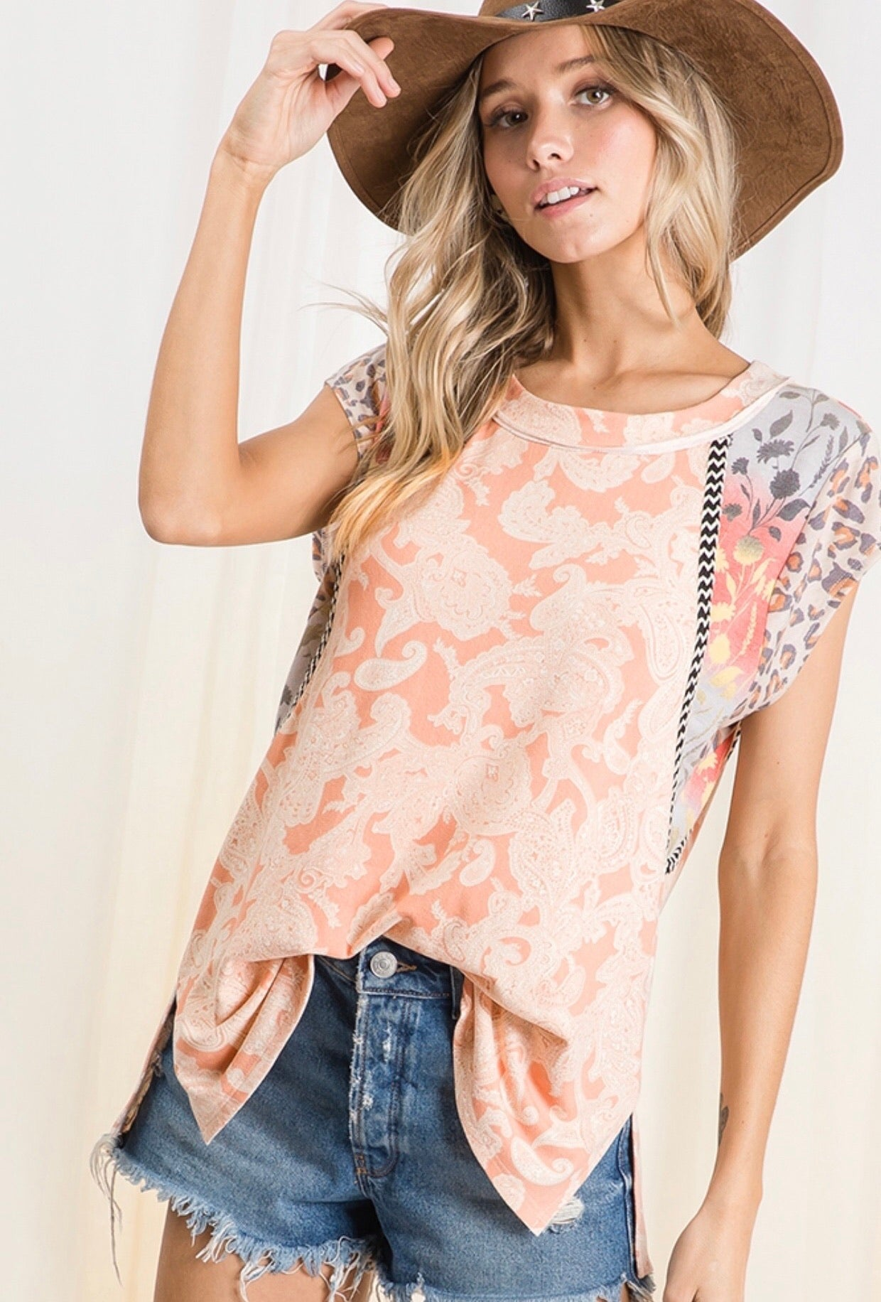 In the Details Soft Sorbet Tee