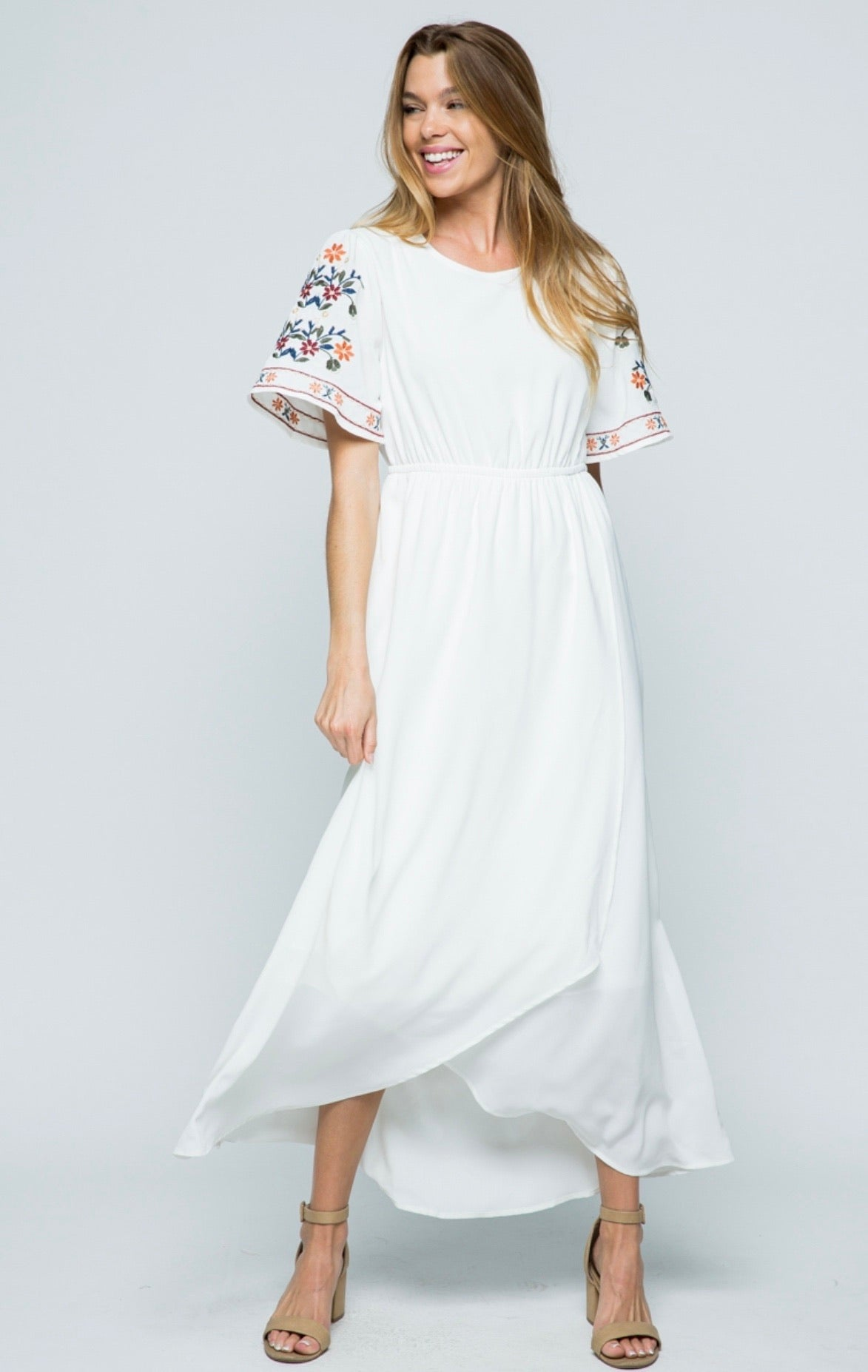 Ivory Remember Me Dress