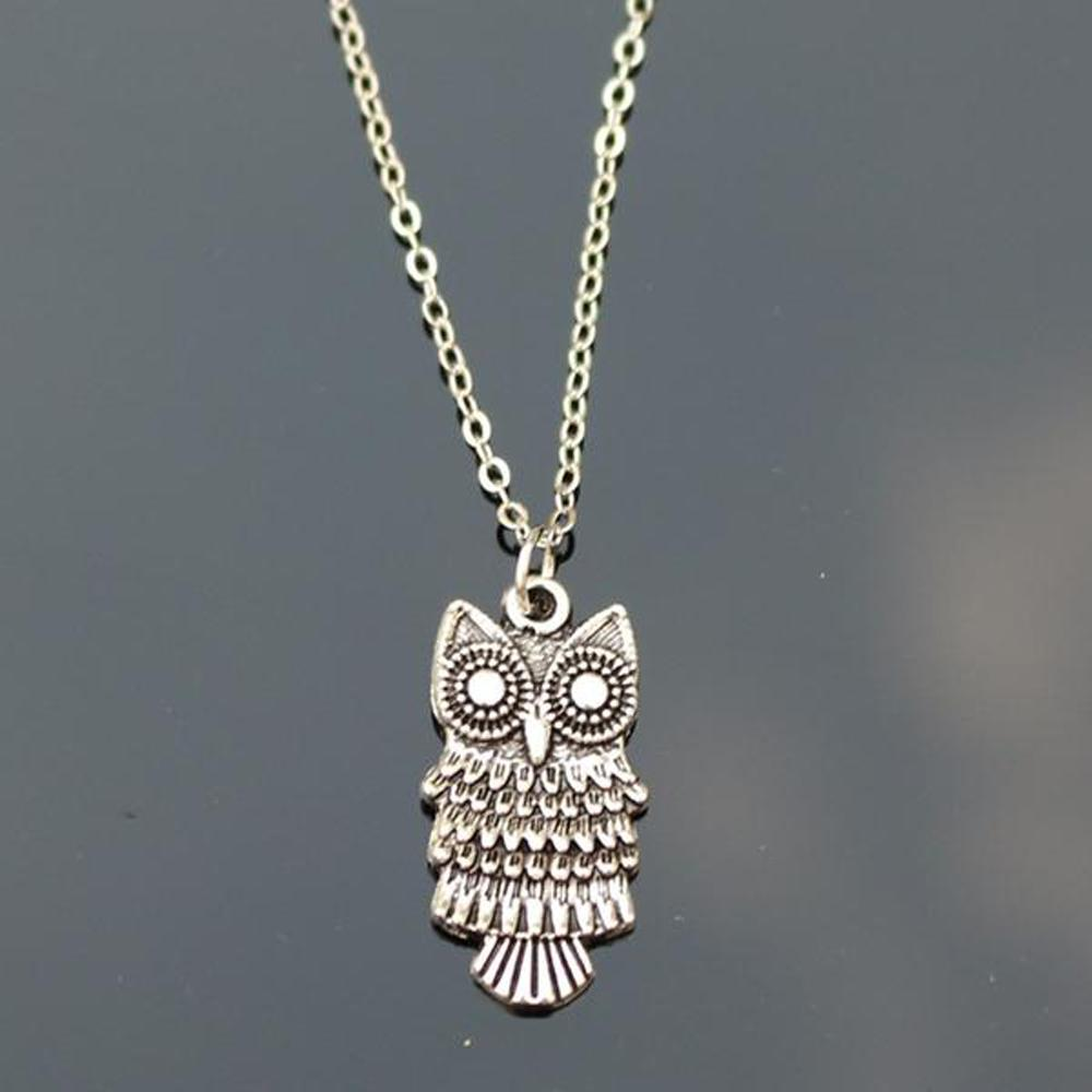 Silver Owl Necklaces by Owl Junkie | Buy Now | owljunkie.com