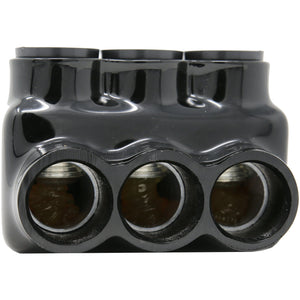 "2.48"" L, 2 port, insulated multitap connector, dual-sided entry, 350-6 wire range MICD350-2"