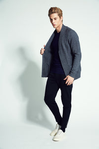 Reno  Cable Zip Cardigan