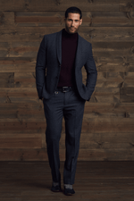 Alvin  Slim Worsted Wool Blazer