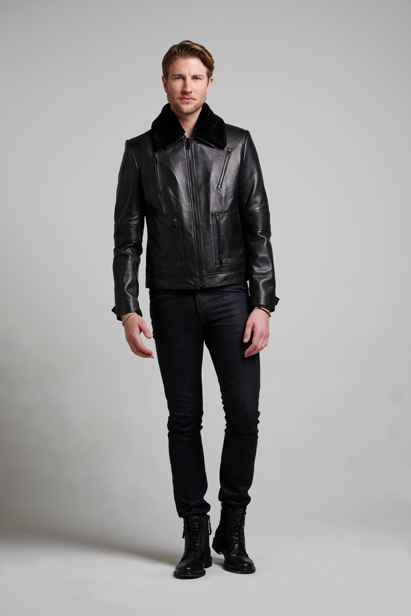 Marlon Moto Leather Jacket