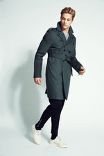 Oak  Moto Trench Coat