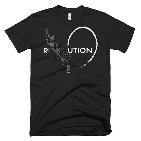 """Love Revolution"" Mens/Unisex Tee"