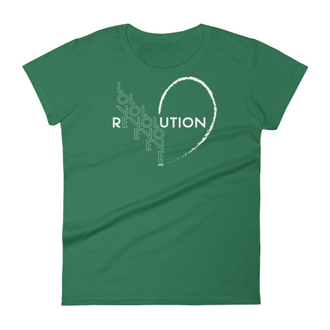 """Love Revolution Classic"" Ladies Tee"