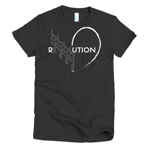 """Love Revolution"" Ladies Tee"
