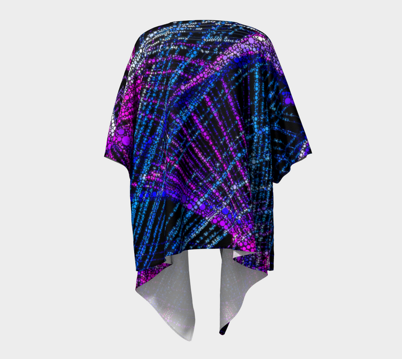 Thin Thin Bubble Draped Kimono Mexico 2020 - A Circus of Light