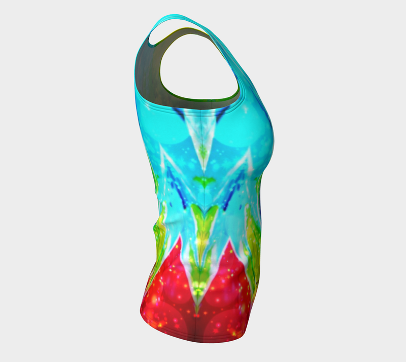 Macaw Long Tank Top