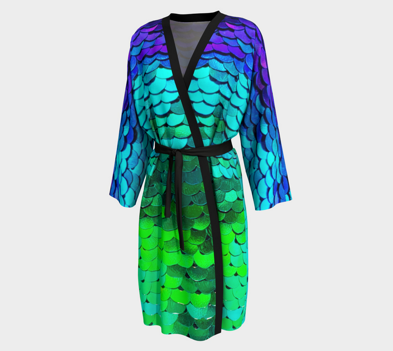 Mermaid Long Robe - A Circus of Light