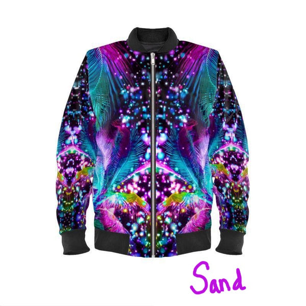 Men's Bomber Jacket - Custom Design Available* - A Circus of Light