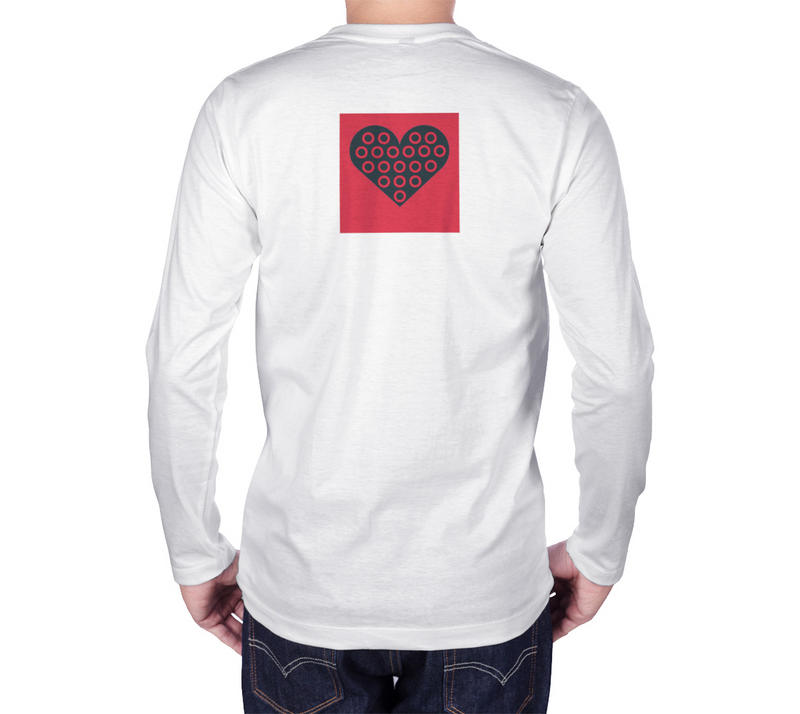 Fishman Donuts 1.0 Heart Long Sleeve Tee - A Circus of Light