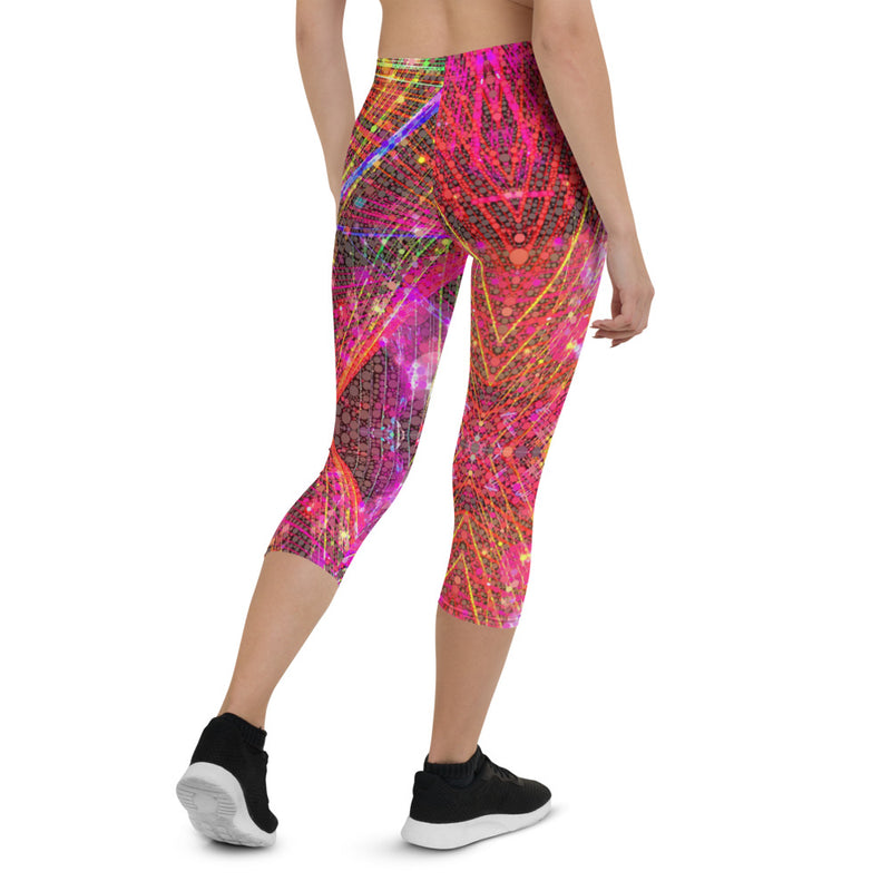 Clouds and Sunken Caves Capri Leggings Mexico 2020 - A Circus of Light