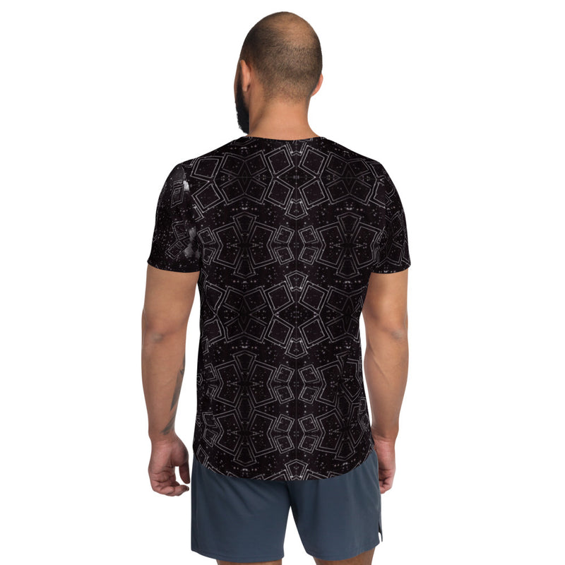 Passing Through Men's Athletic T-shirt - A Circus of Light
