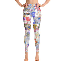 Medieval Patchwork Yoga Leggings - A Circus of Light