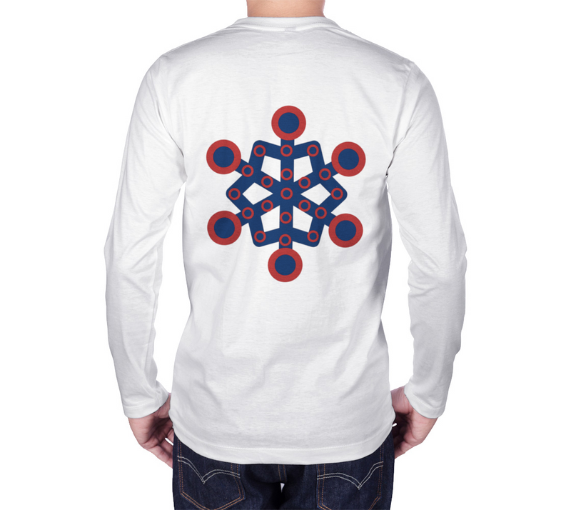 Fishman Donuts Snowflake Long Sleeve Tee - A Circus of Light