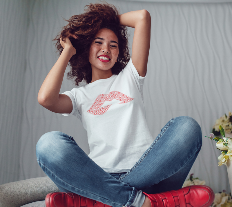 Fishman Donuts Lips B+C Tee - A Circus of Light