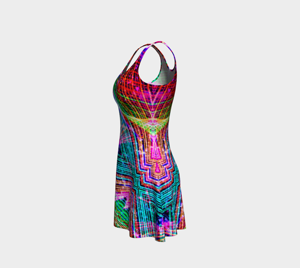 Cadillac Rainbows Flare Dress Mexico 2020 - A Circus of Light