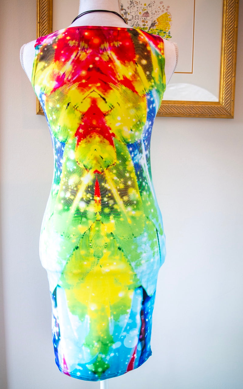 Macaw Bodycon Dress - A Circus of Light