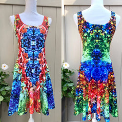 Sea and Sand Mexico 2020 Skater Dress - A Circus of Light
