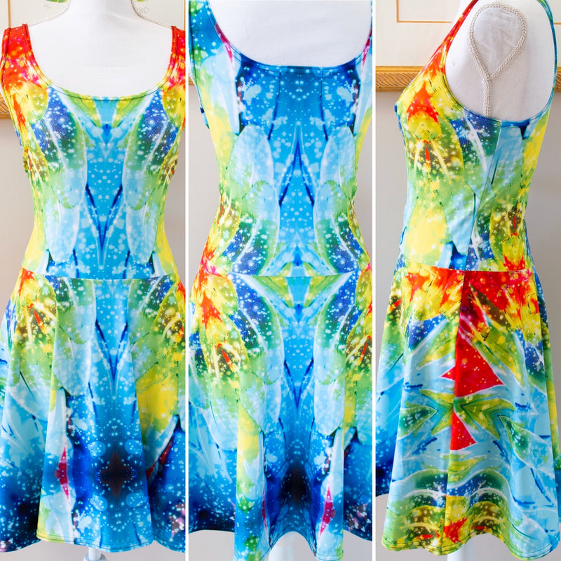 Macaw Skater Dress - A Circus of Light