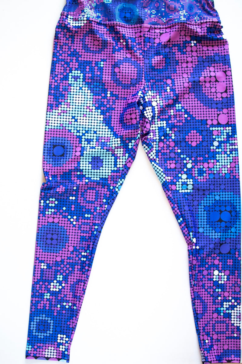 Images and Mind Plus Size Leggings - A Circus of Light