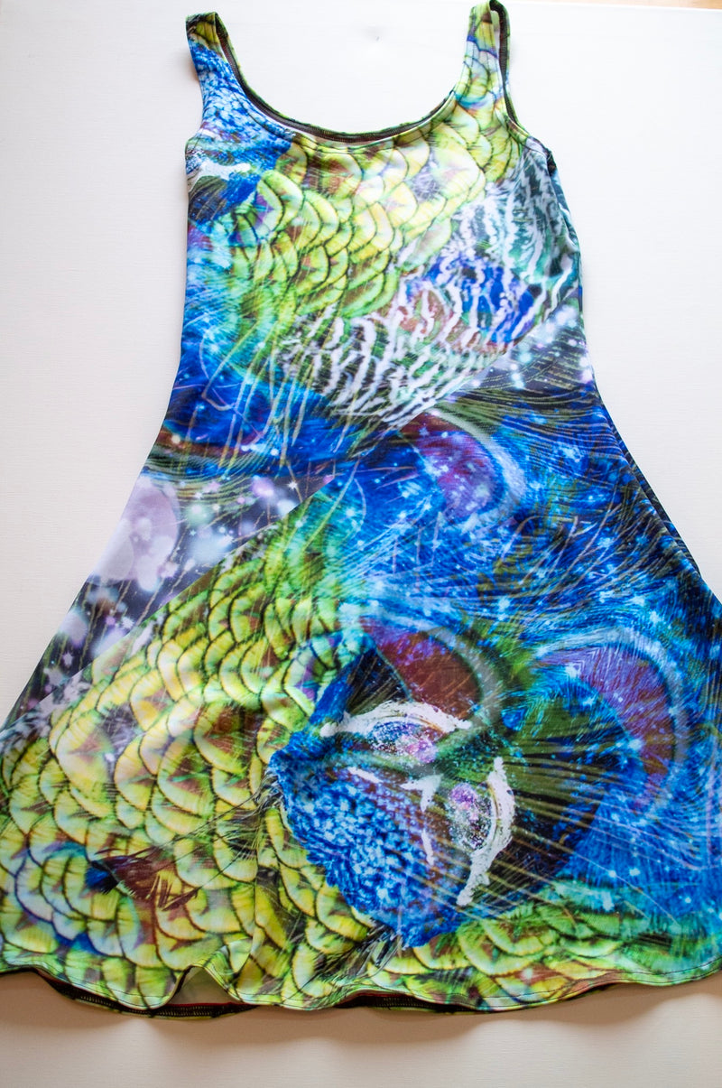 Peacock Flare Dress - A Circus of Light