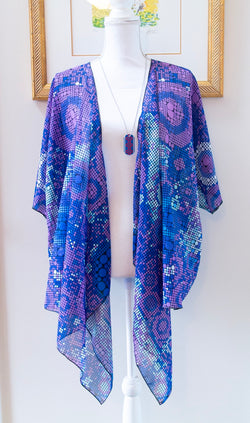 Images and Mind Draped Kimono - A Circus of Light