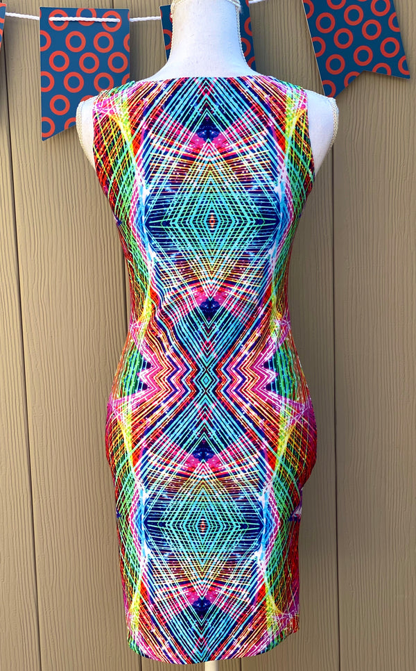 Cadillac Rainbows Bodycon Dress Mexico 2020 - A Circus of Light
