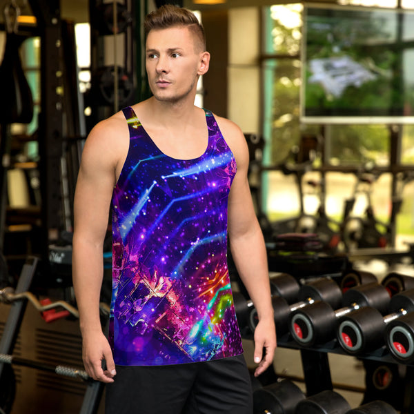 Mexico 3 Men's Tank Top - A Circus of Light