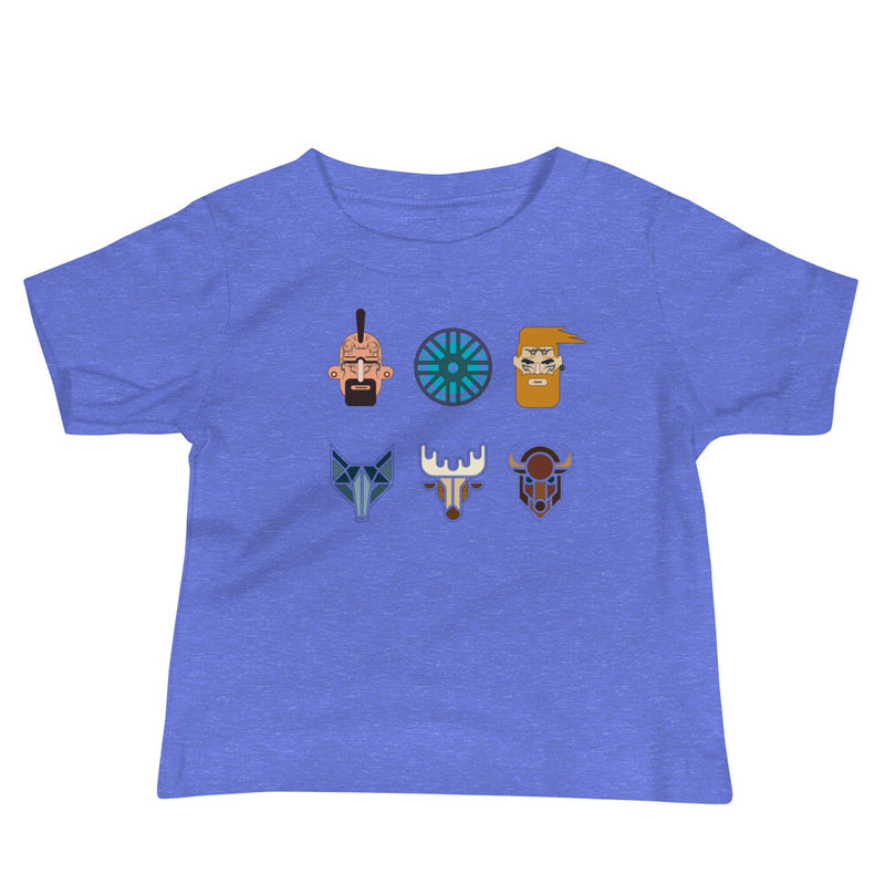 Viking Warriors Baby Jersey Short Sleeve Tee