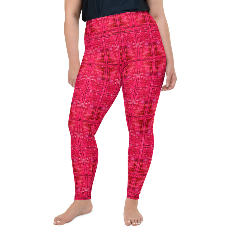 La Questionnante Plus Size Leggings - A Circus of Light