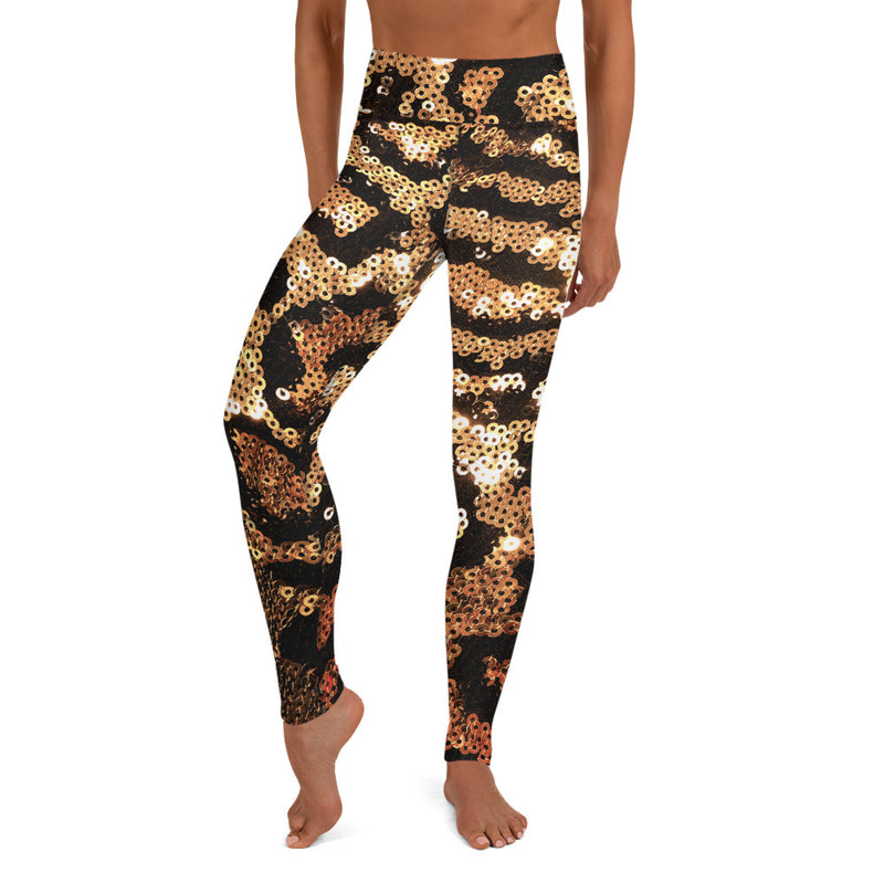 Jaguar Yoga Leggings - A Circus of Light