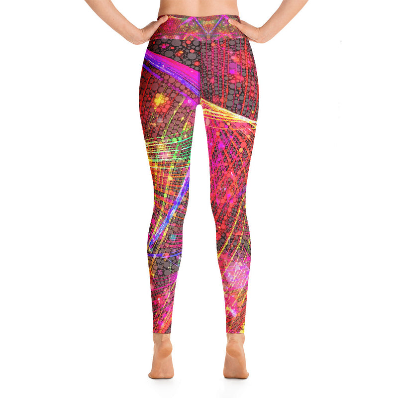 Clouds and Sunken Caves Yoga Leggings Mexico 2020 - A Circus of Light