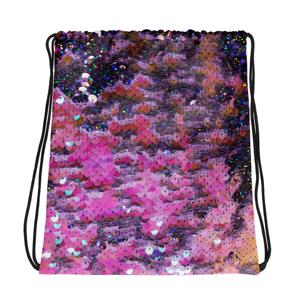 Sparkle Scales Drawstring bag - A Circus of Light