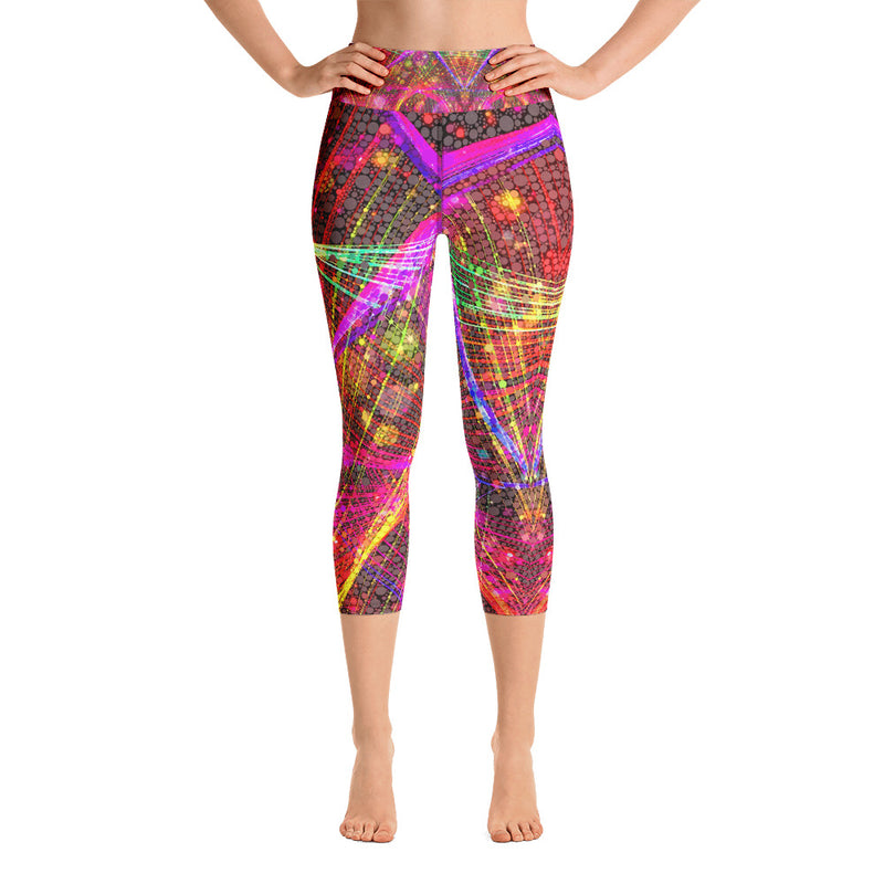 Clouds and Sunken Caves Yoga Capri Leggings Mexico 2020 - A Circus of Light