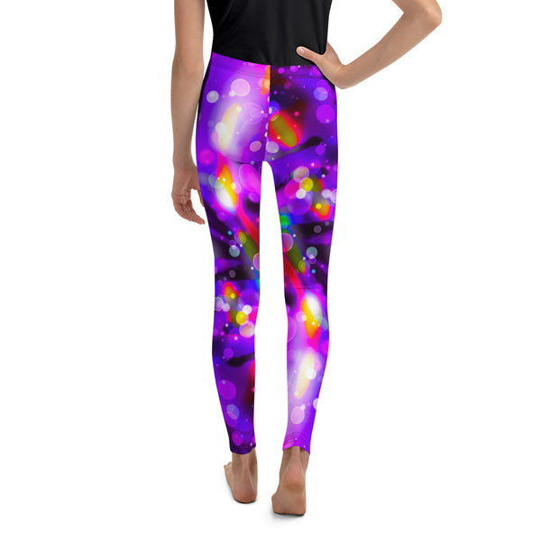 Stretches on Undefined Youth Leggings - A Circus of Light