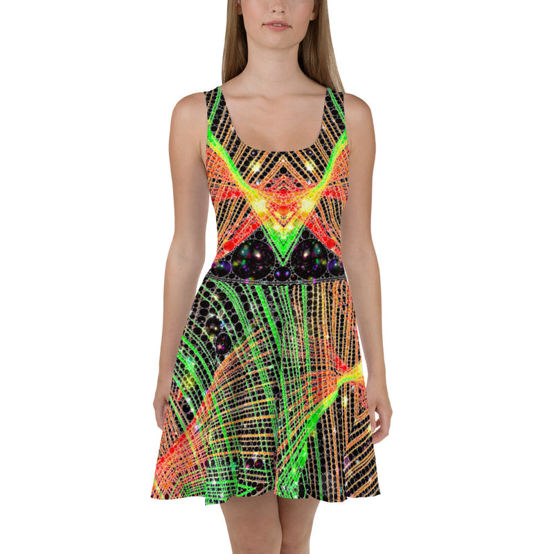 Strings and Things Skater Dress Mexico 2020 - A Circus of Light