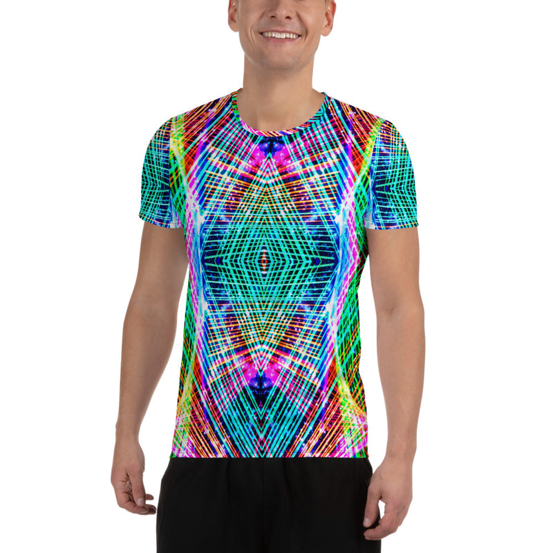 Cadillac Rainbows Men's Athletic T-shirt Mexico 2020 - A Circus of Light