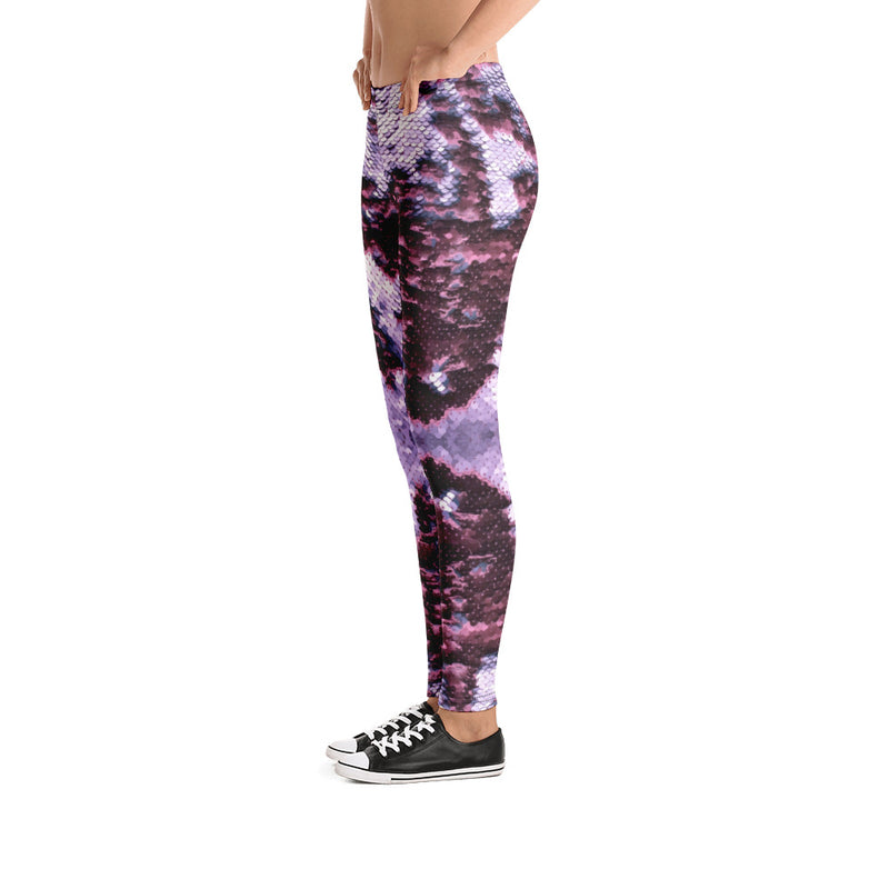 Plum Mermaid Leggings - A Circus of Light