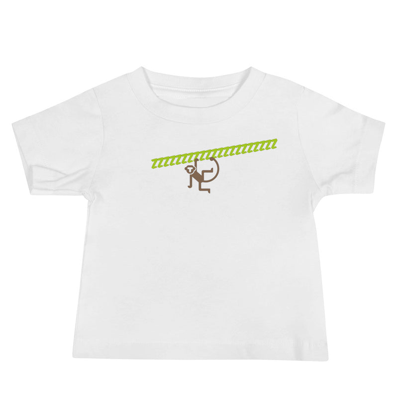Sleeping Monkey Baby Jersey Short Sleeve Tee - A Circus of Light