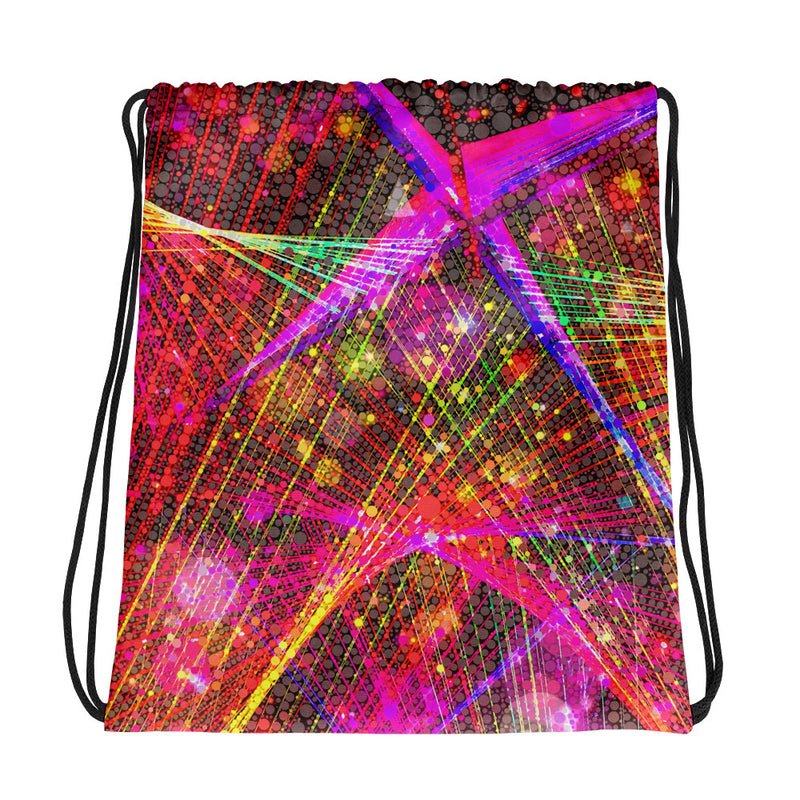 Clouds and Sunken Caves Drawstring Bag Mexico 2020 - A Circus of Light