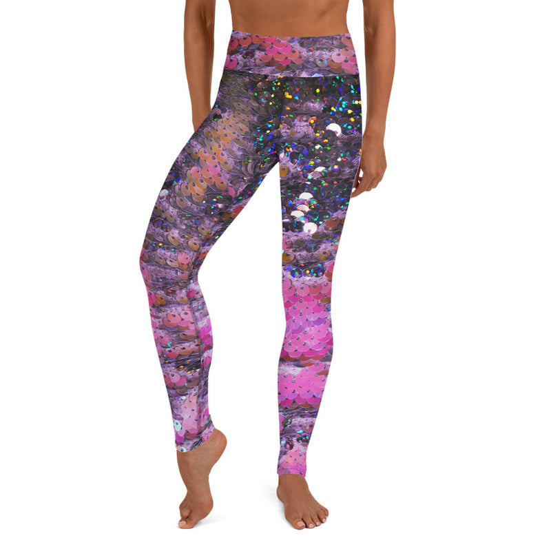 Sparkle Scales Yoga Leggings - A Circus of Light