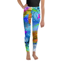 Blue Morning Youth Leggings - A Circus of Light