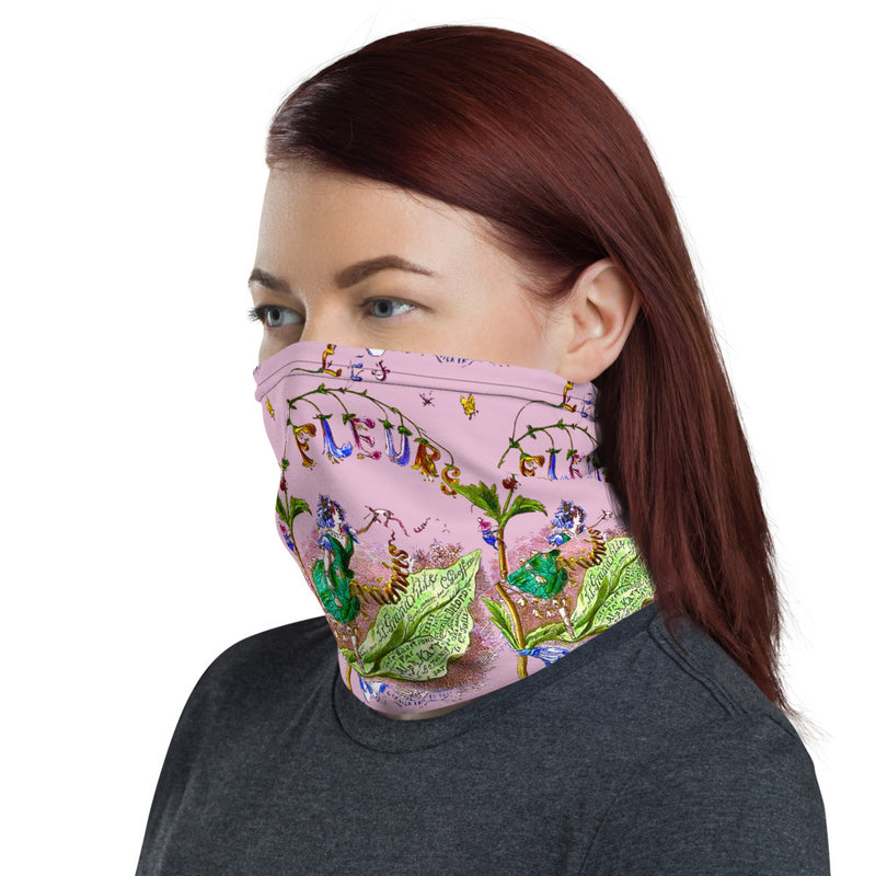 Les Fleurs neck gaiter headband - A Circus of Light