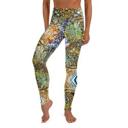 Iguana Yoga Leggings - A Circus of Light